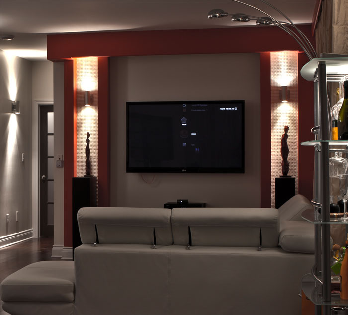 my condo home theater setup avs forum home theater discussions and reviews. Black Bedroom Furniture Sets. Home Design Ideas